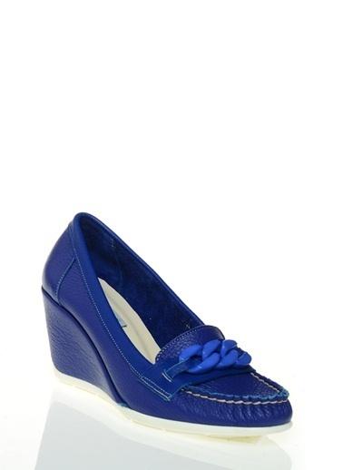 Cotton Bar Ayakkabı İndigo